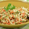 Creamy coleslaw — Stock Photo