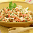 Stock Photo: Creamy coleslaw