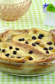 Bread and Butter pudding — Stock Photo