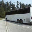 White Tour Bus — Stock Photo #10269224