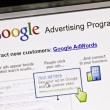 Google Advertising Program - Stock Photo