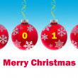 Merry Christmas — Vector de stock #8009029