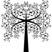 Art Tree — Stock Vector
