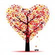 Valentine tree — Stock Vector #8365094
