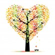 Valentine tree — Stock Vector #8365097