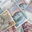 Swedish currency - Stock Photo