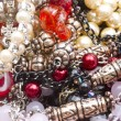 Stock Photo: Beautiful string of beads