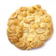 Delicious peanut cookie — Stock Photo
