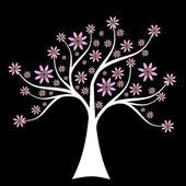 árbol de primavera — Vector de stock