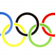 Olympic Rings — Stock Photo