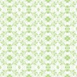 Seamless Floral and heart Pattern — Imagen vectorial