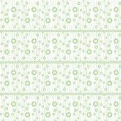 Patrón de círculos sin costuras — Vector de stock
