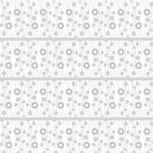 Sömlös cirklar mönster — Stockvektor