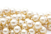 Vackra sträng av pärlor — Stockfoto