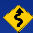 Curves Ahead — Stock Photo
