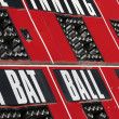 Stock Photo: Baseball Scoreboard