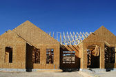 Construction of New Home — Stock Photo