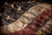 Old American Flag — Stock fotografie