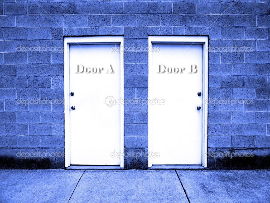 Home timelesswoodcreations com - Filename Depositphotos_8339765 Two Doors Representing Choices Jpg