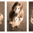 Little Girls Sequence Photograph — Stock Photo #8505972