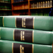 Law Books on Bankruptcy — Stock Photo