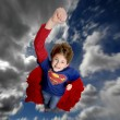 Young Girl Superhero - Foto Stock