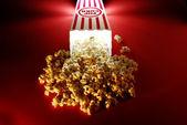 Popcorn at the Movies — Stock Photo