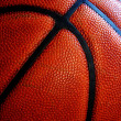 Old Leather Basketball — Foto Stock
