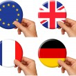 Flag icons set 2 — Foto de stock #8137830