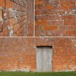Brickwall study — Stockfoto