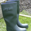 Stock Photo: Rubber boots