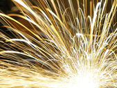 Abstract sparks background — Stock Photo