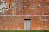Brickwall study — Stock Photo