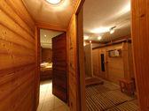Chalet sauna — Stock Photo