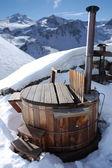 热水浴缸 — 图库照片
