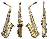 саксофон — Стоковое фото