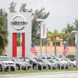 Bill Seidle Nissan Miami FL - Stock Photo