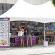 Miami Museums Booth — Stock Photo