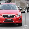 Red Volvo XC60 — Stock Photo