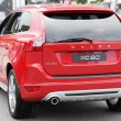 Red Volvo t8 - Photo