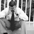 Depressed businessman — Stock Photo #8403122
