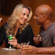 Royalty-Free Stock Photo: Couple at the bar