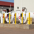 Fuel Tanks - Stockfoto