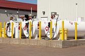 Palivové nádrže — Stock fotografie