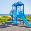 Oceanside Jungle Gym — Stock Photo