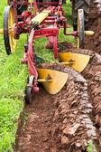 Plowing Field — Stock Photo