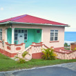 Stock Photo: Caribbean House