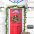 Stock Photo: Christmas Door