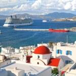 Постер, плакат: Mykanos Cruise Ships