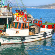 Turkish Fishing Boats — Stock Photo #7990328